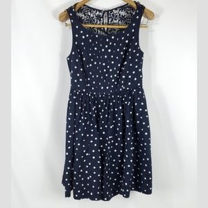 Moulinette Soeurs Pleated Polka Dot Fit & Flare